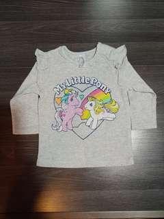 Baby Newborn My Little Pony Long Sleeve Tee Shirt