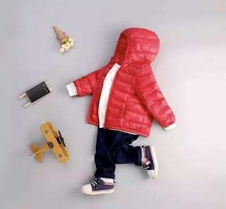 Winter jacket girl/boy unisex parka outerwear