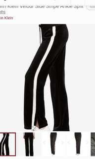Calvin Klein Stripe Pants