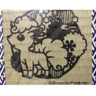 六尾 杯墊 日本製 寵物小精靈 Pokemon