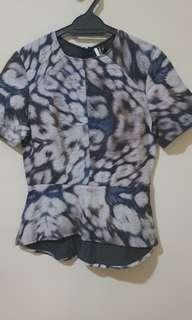 Fitted Topshop top