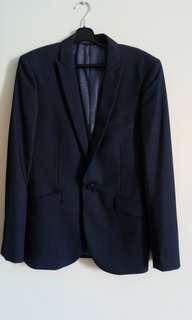 G2000 Slim Fit Blazer(Blue)