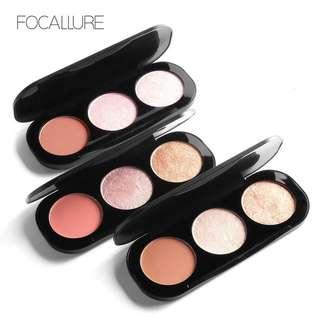 Focallure Blush & Highlighter Pallete