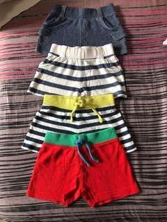 🚚 PL Mothercare Baby Shorts Bundle 6-9M