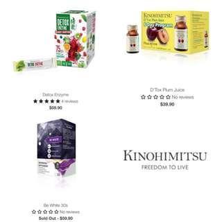 Kinohimitsu Detox Enzyme / Plum Juice / Be white