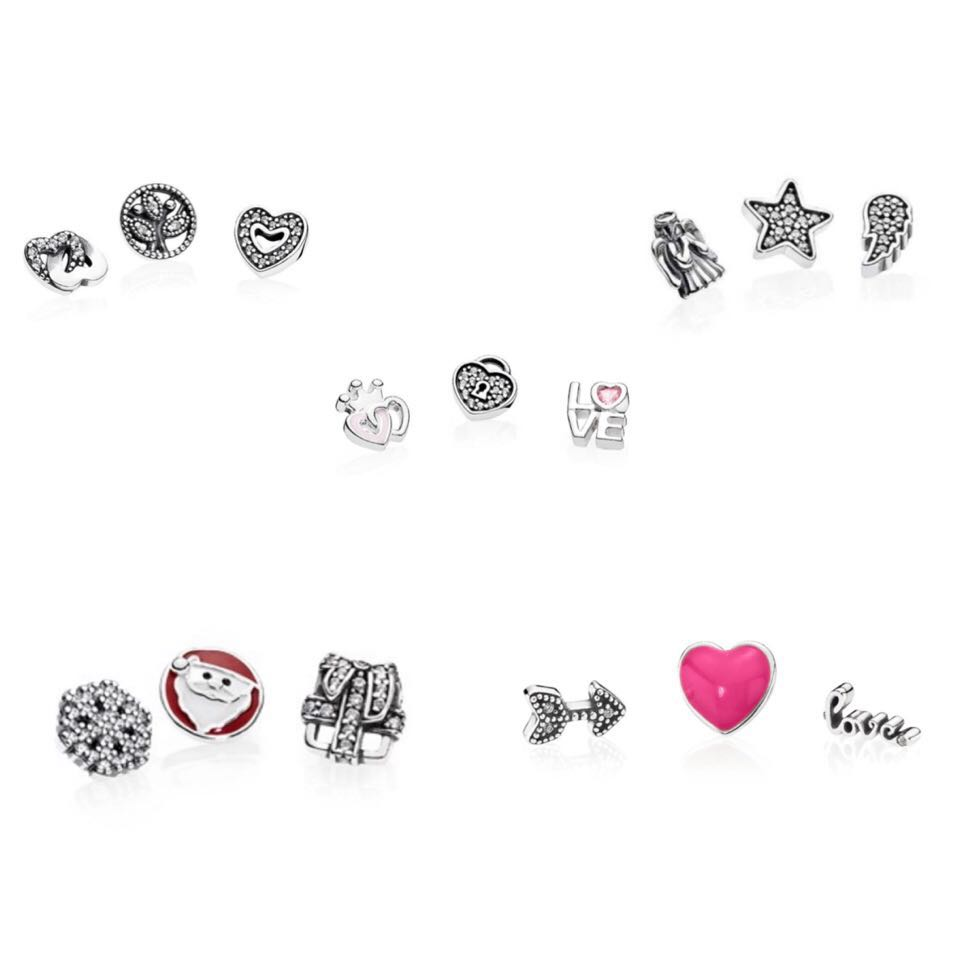 ab7ab2c4e 30% OFF PANDORA petites charms, Women's Fashion, Jewellery, Others ...