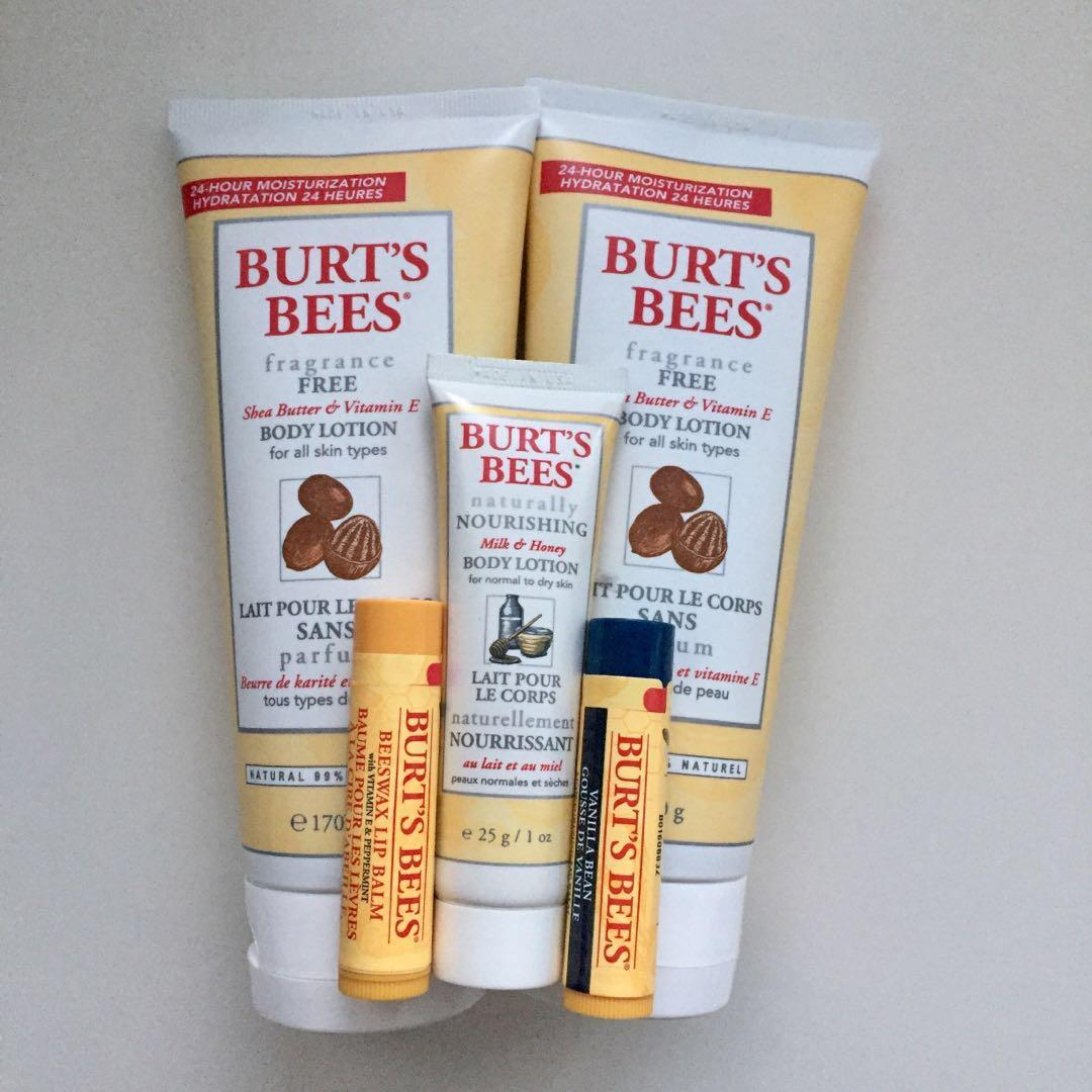 5pc Burts Bees Gift Set