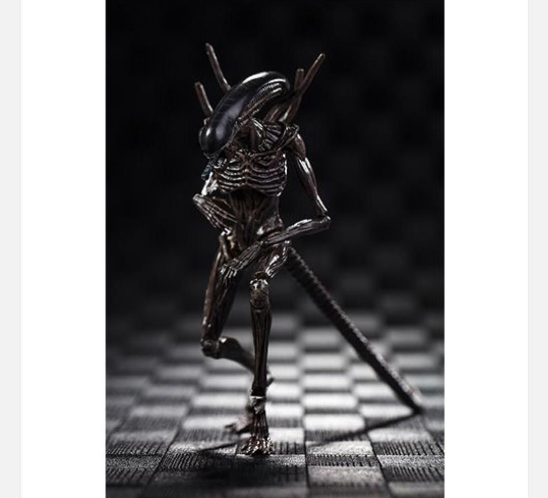 全新 🔥 現貨 🔥 異形 聖約 Exquisite Mini  3.75 Inches Action Figure ~ Alien Covenant Xenomorph  💰HKD168/pc  貨品與店舖同步發售 買家須於2天內完成交易