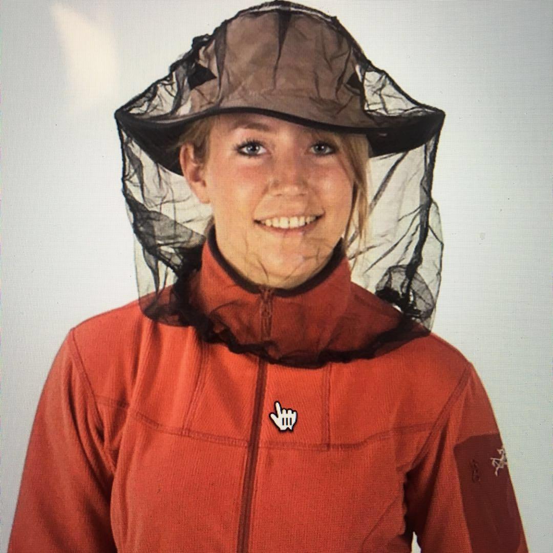 全新防蚊網 帽 Mosquito Head Net