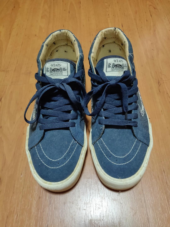 f791f62b0541 VANS x WTAPS - Skate Mid Blue