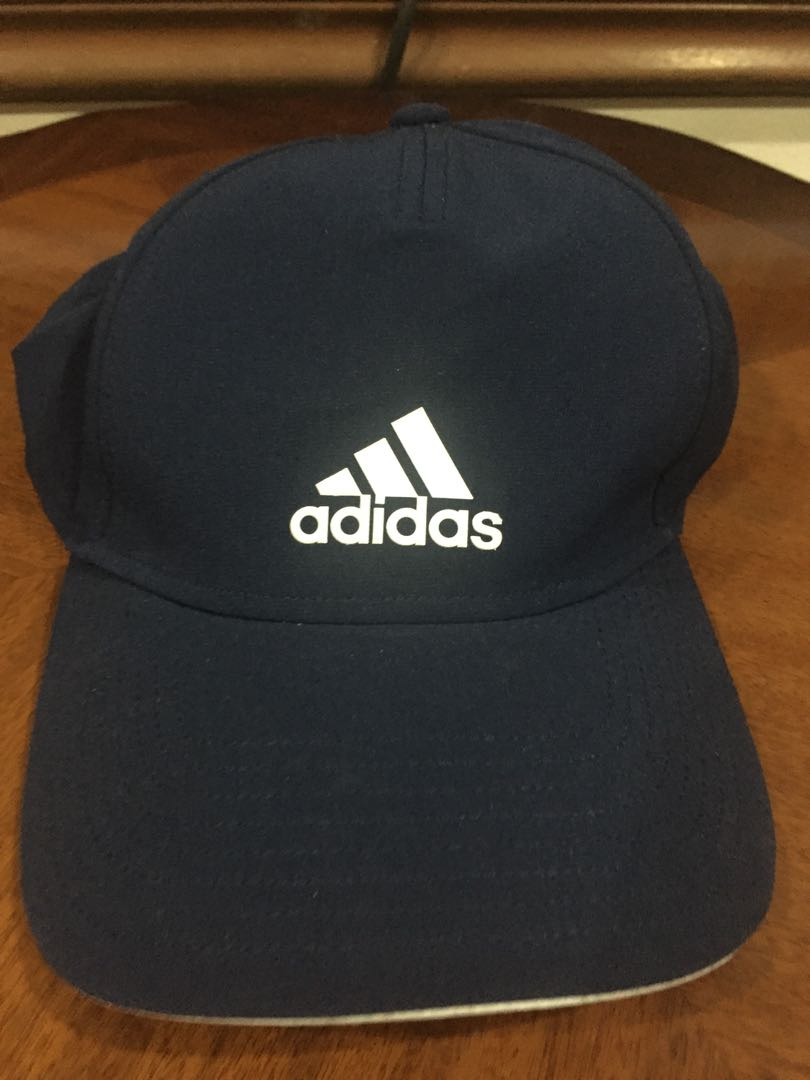 486c2e6e4 Adidas Climate Cool Cap Navy Blue, Men's Fashion, Clothes, Others on ...