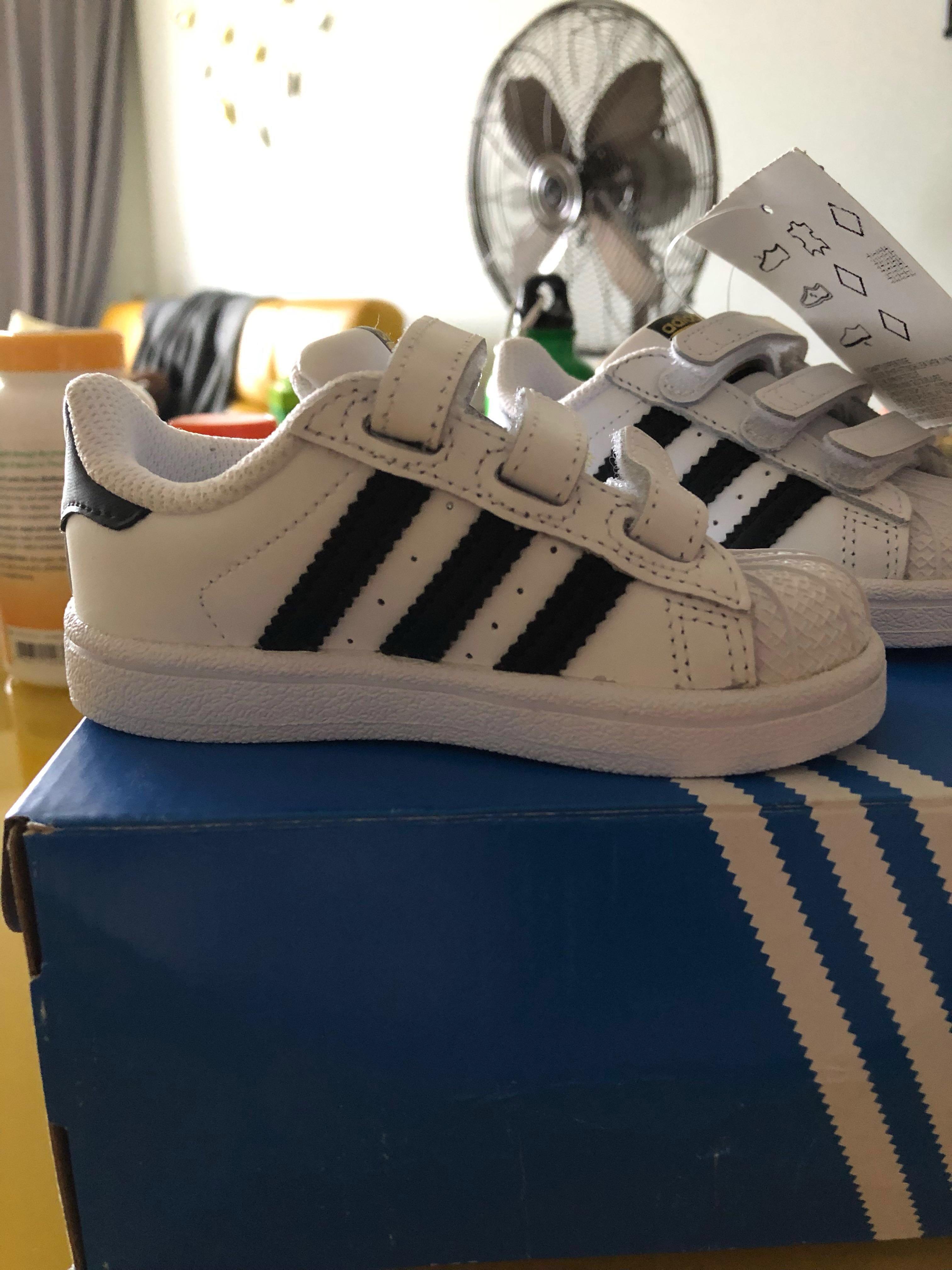 premium selection c6179 d3a0b Adidas Superstar Shoes, Babies & Kids, Boys' Apparel, 1 to 3 ...