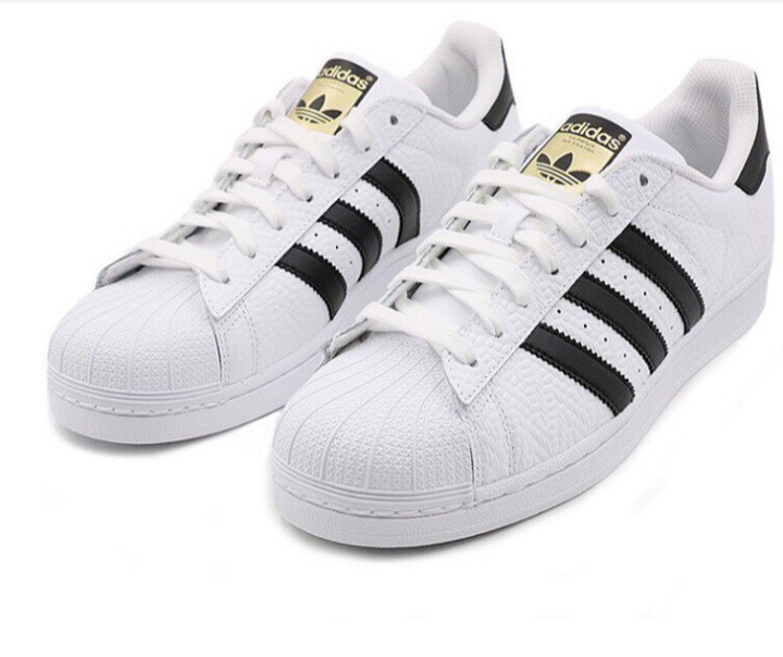 new style 41978 2b00c Adidas Superstar Sneakers Black & Gold