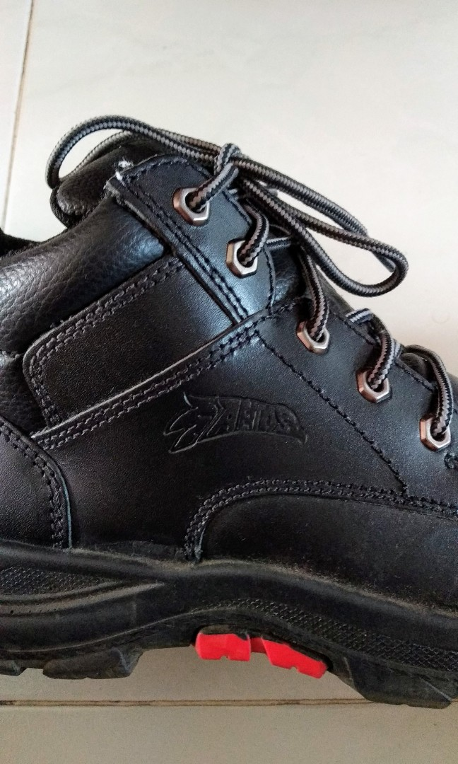 6ca58d47dc1f64 Aetos Black Safety Shoes size 6, Men's Fashion, Footwear, Boots on ...