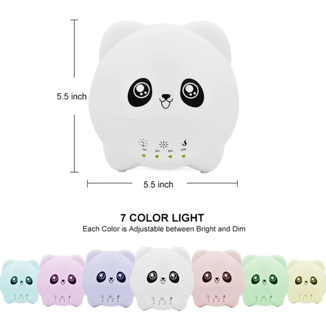 Aroma Diffuser Essential Oil with LED Light 300ml (Panelia)