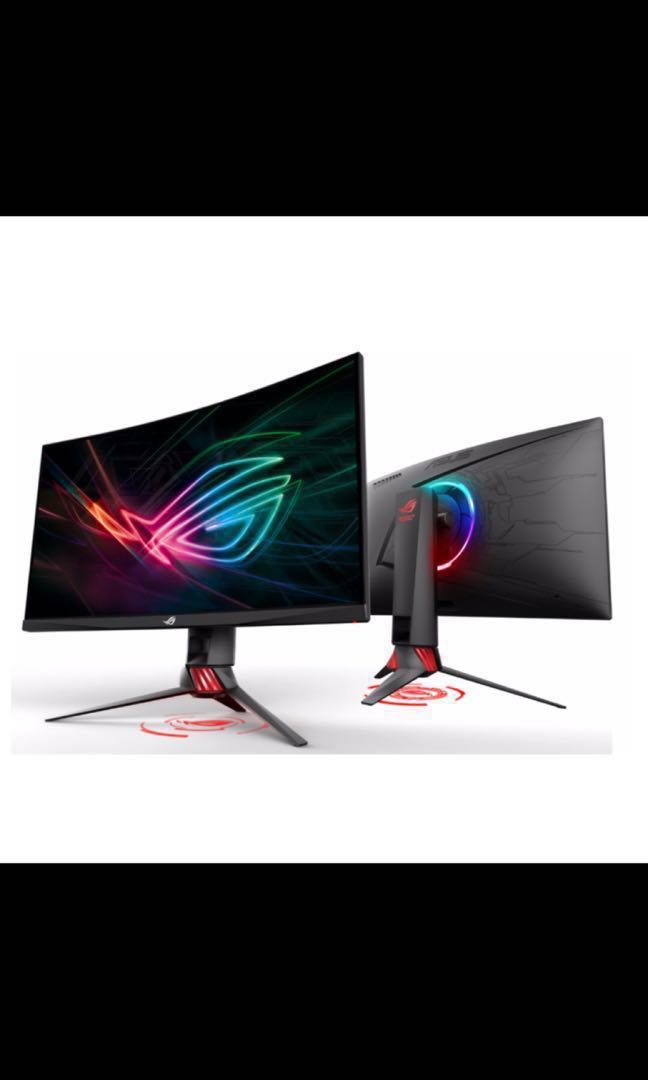 Asus ROG Strix XG27VQ 27inch curved 144hz Gaming monitor on