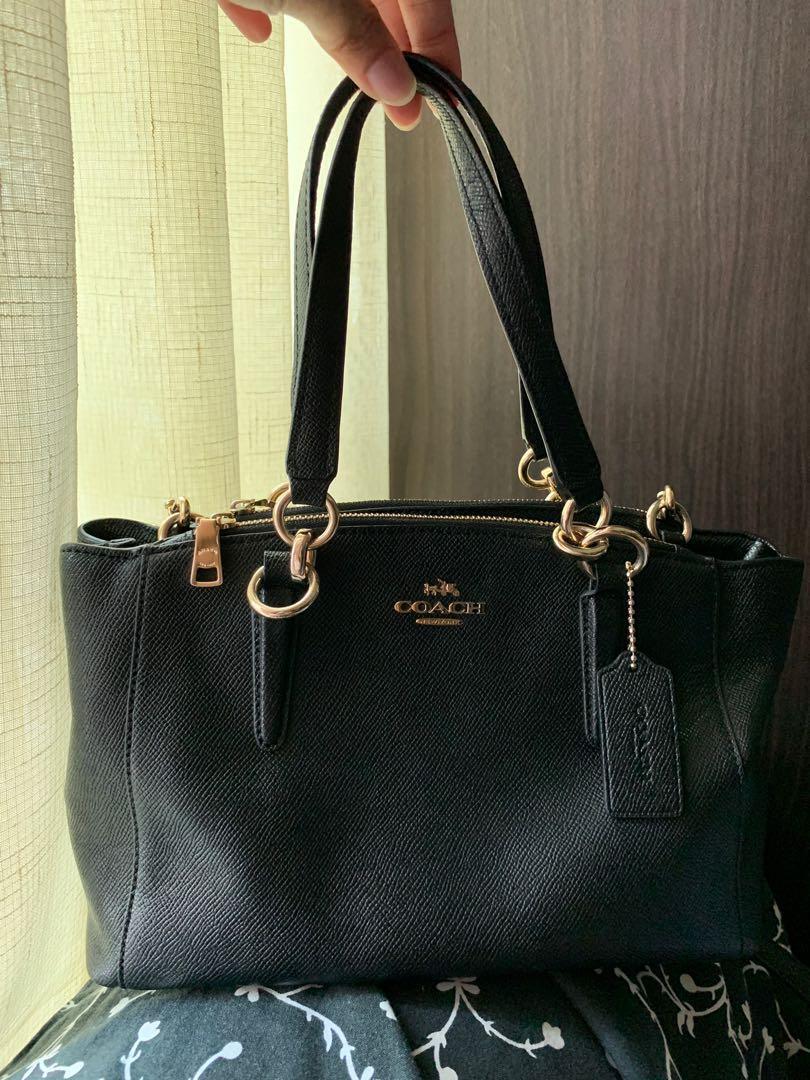 281b1f71dca0 Authentic coach mini christie bag luxury bags wallets on carousell jpg  810x1080 Black coach mini christie