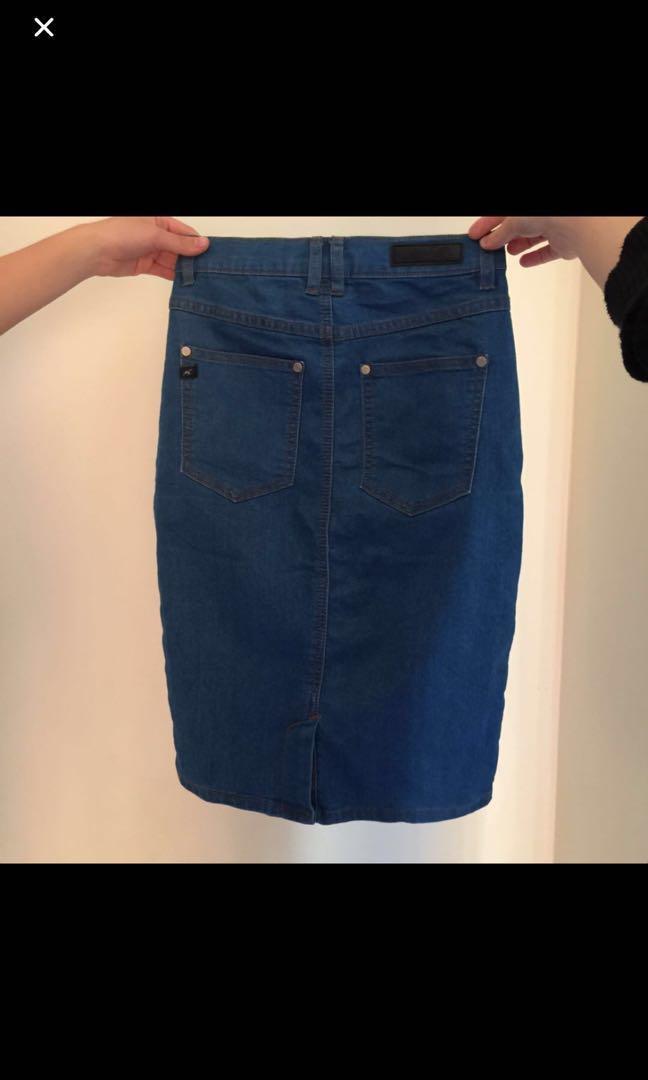 Ava and Ever Denim Skirt