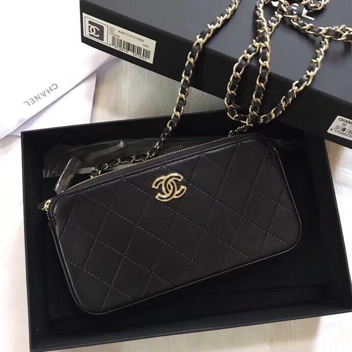 af922315bda9 BEST SELLING Chanel Classic Clutch With Chain, Luxury, Bags ...