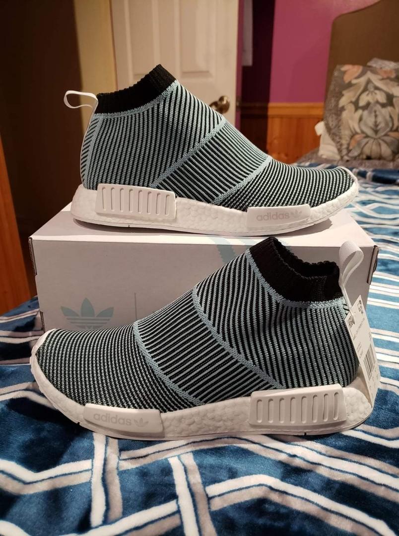 5df6c174fe5ee BNWT Adidas NMD CS1 Primeknit Parley US Size 9