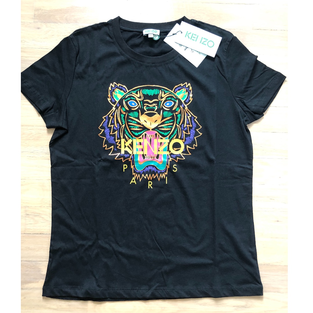 87ebdadb74d Authentic Brand New With Tag Kenzo Ladies Tshirt, Women's Fashion ...