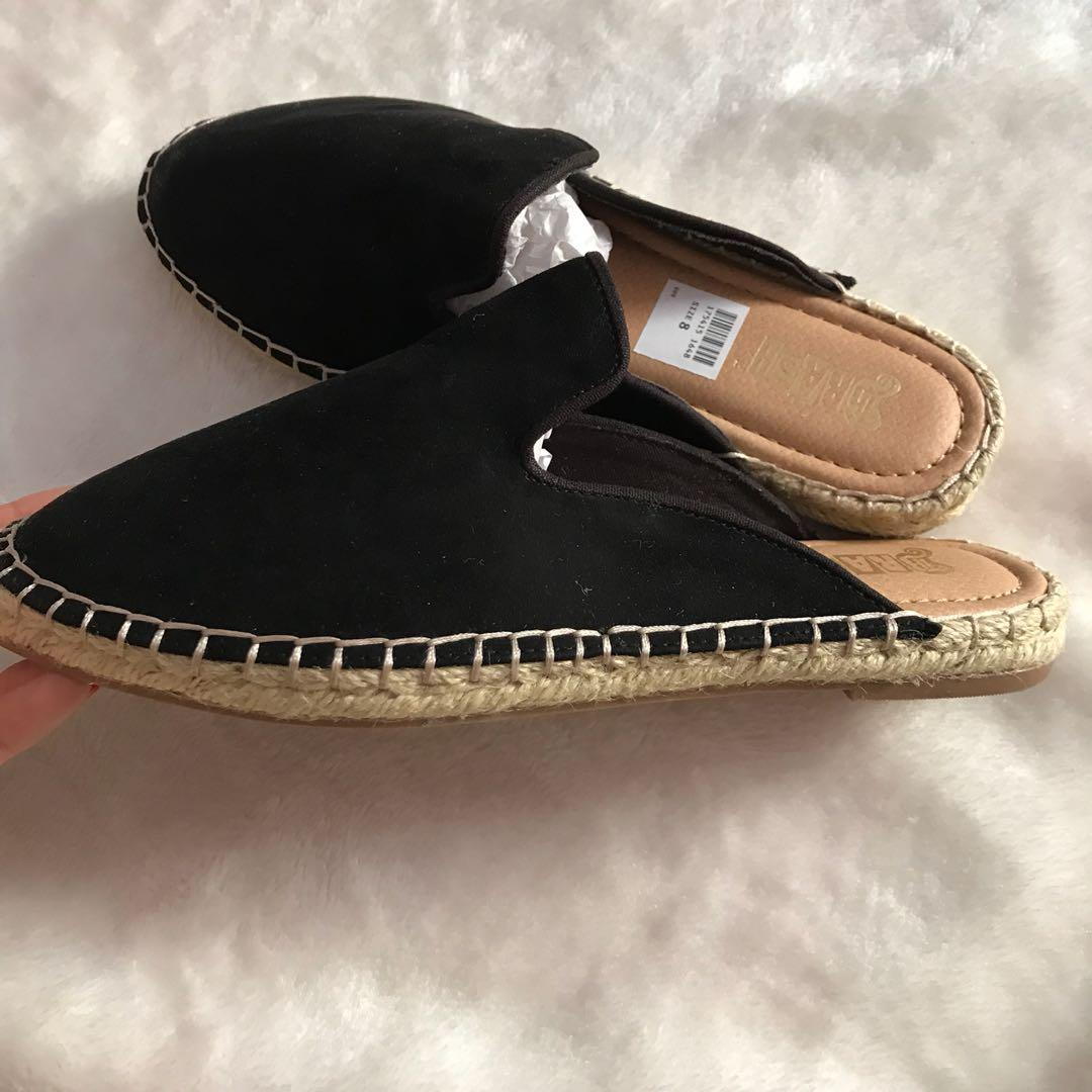 7784032dc8c Brash espadrilles half slipper, Women's Fashion, Shoes, Flats ...