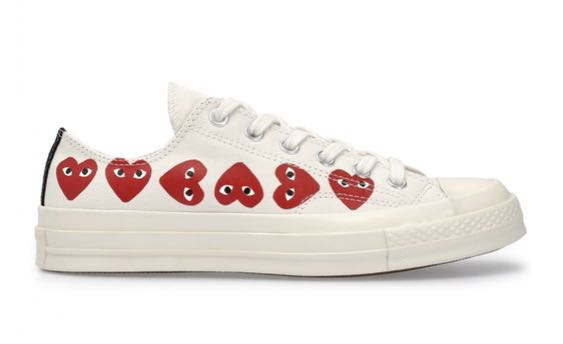 CDG X CONVERSE SHOES (LATEST DESIGN) 60540d2f5