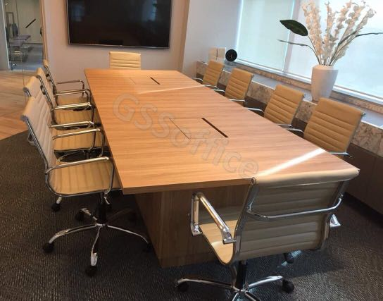 Customised Plywood Conference Table