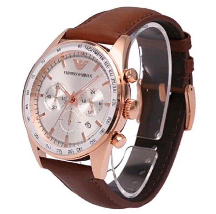 6d7b19e89 Emporio Armani Watch (Model No: AR5995), Men's Fashion, Watches on ...