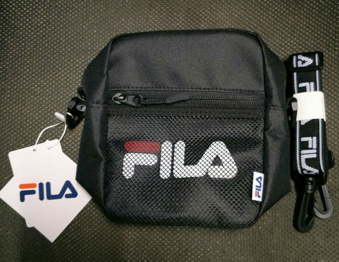 3986cb37be Fila Wego Shoulder bag, Men's Fashion, Bags & Wallets, Sling Bags on ...
