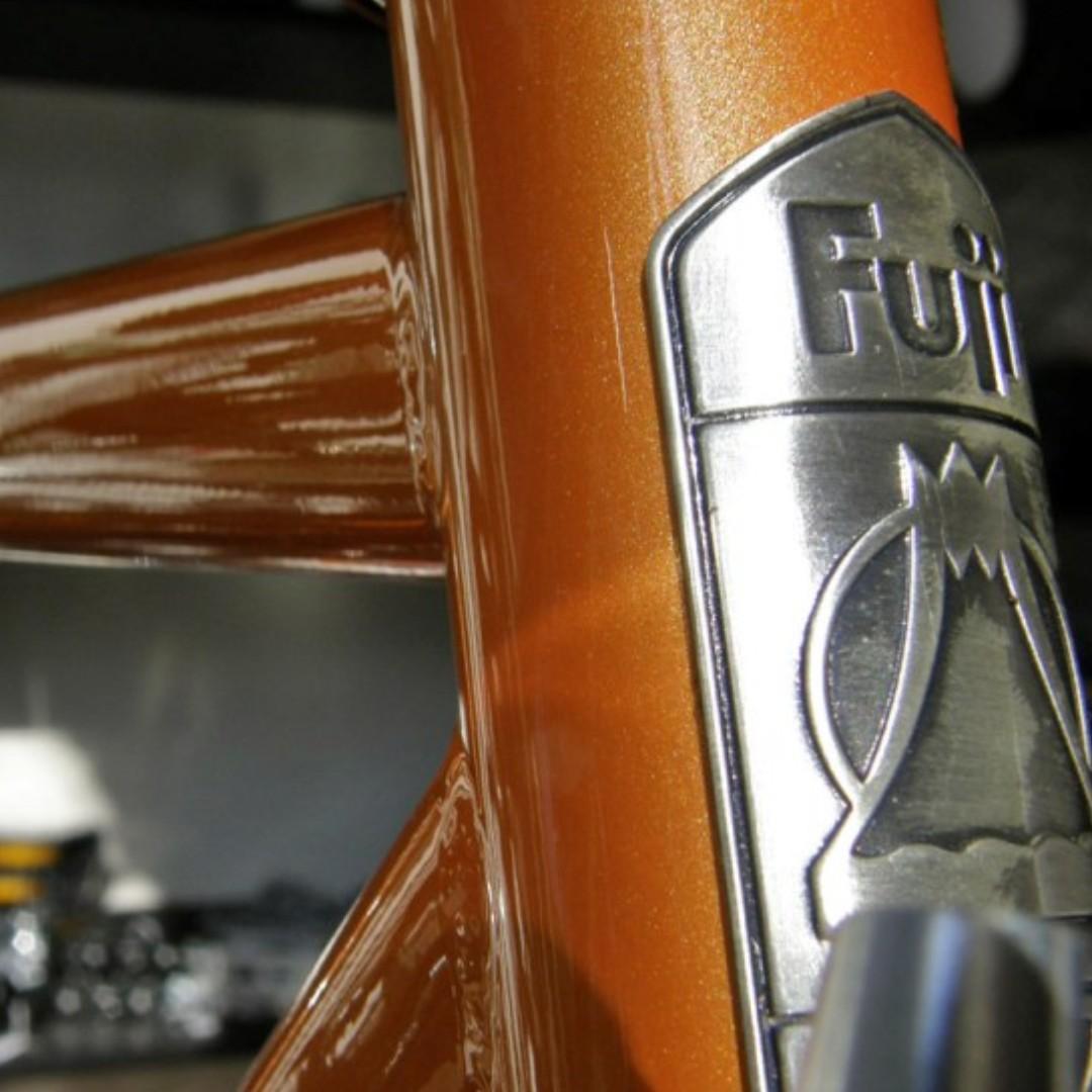 FUJI FEATHER  fixed gear 死飛  orange colour