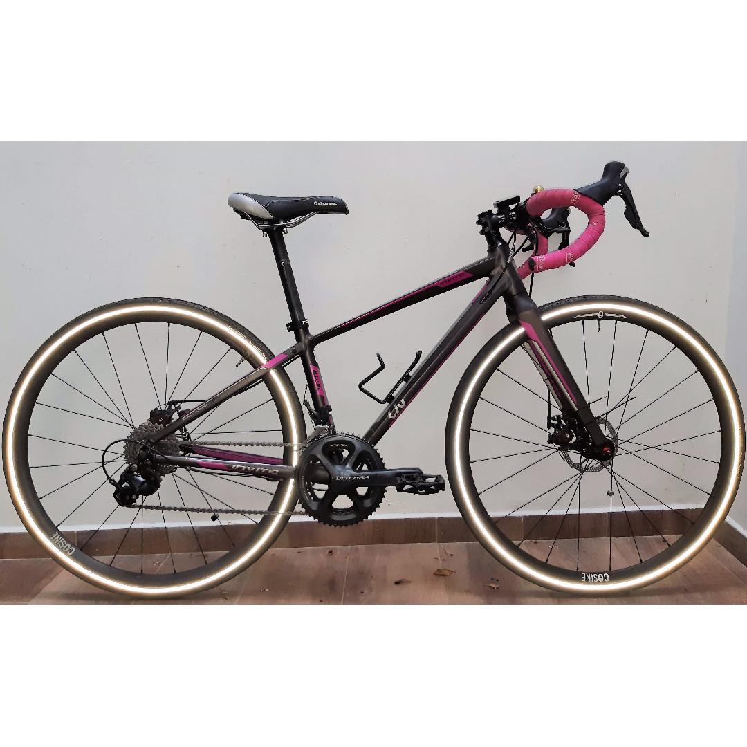 Giant Liv Invite 1 Road Bike Size Xs Disc Brakes 2x11 Sd 700c Wheels Bicycles Pmds Bikes On Carou
