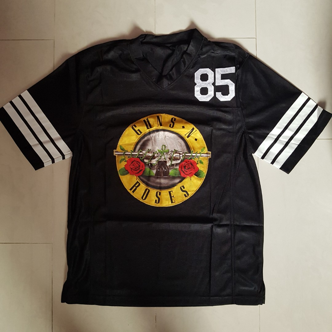 2462dcceb73a Guns N Roses oversized jersey tshirt official merch L size