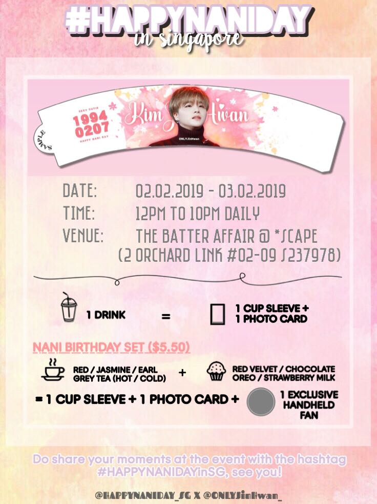 iKON JINHWAN BIRTHDAY EVENT 🎂