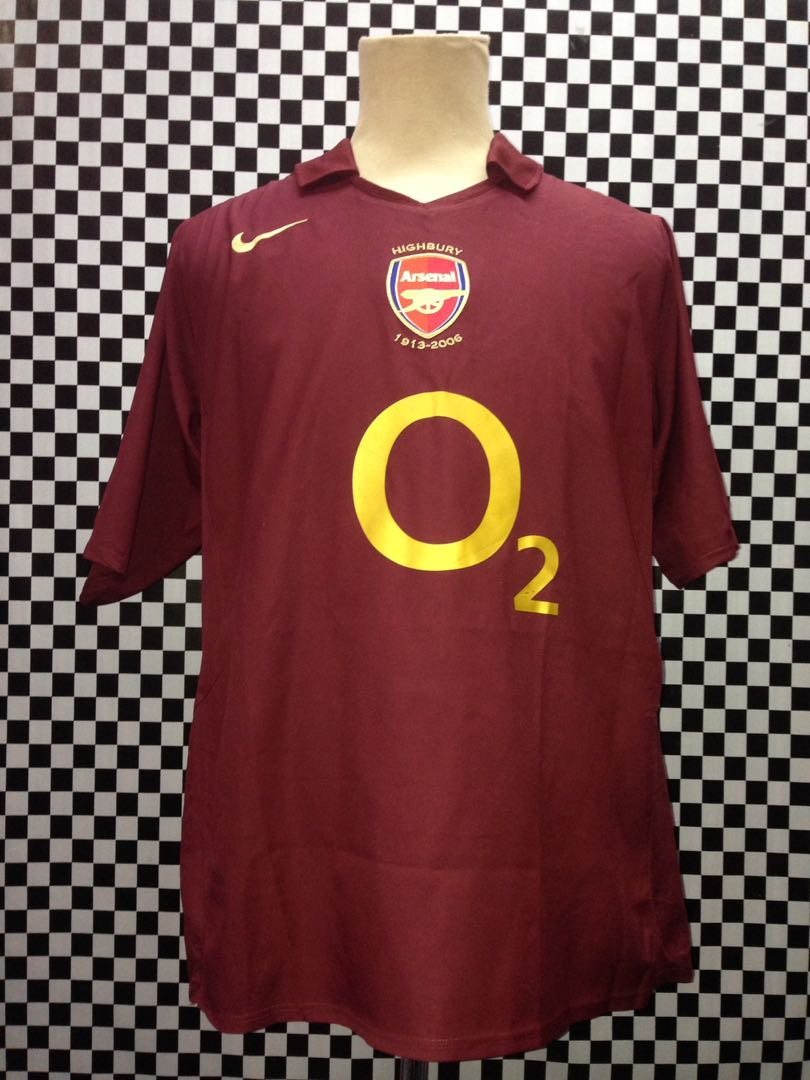 buy online f21e0 ada9c Jersey Arsenal 02