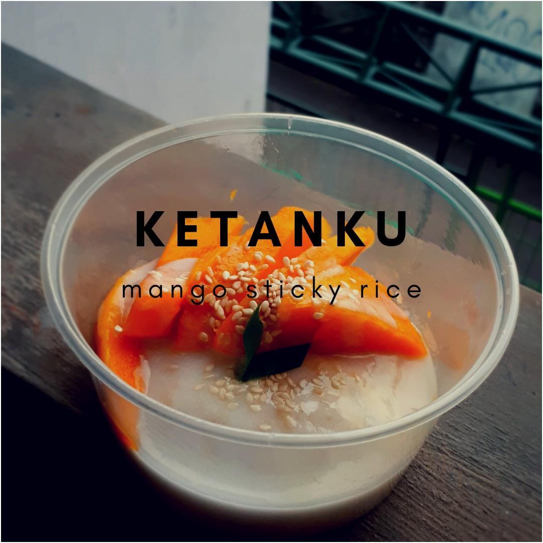 Ketan mangga/ mango sticky rice