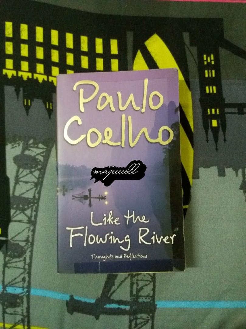 Like the Flowing River by Paulo Coelho (Secondhand Book)
