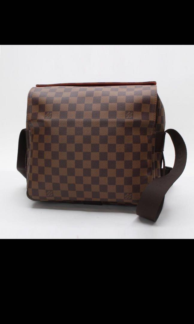 29479dc5a6 LOUIS VUITTON Naviglio Crossbody Shoulder Bag Damier, Men's Fashion ...