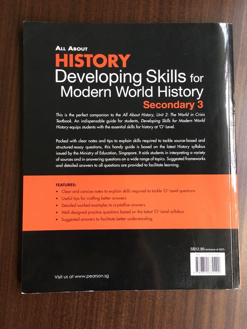 NEW All About History (Sec 3), Books & Stationery, Textbooks