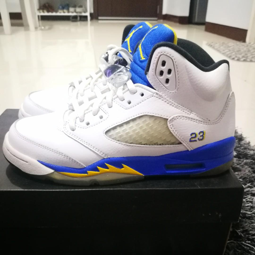 the best attitude 001ae 82219 Nike Air Jordan 5 Laney Retro GS size 5Y on Carousell