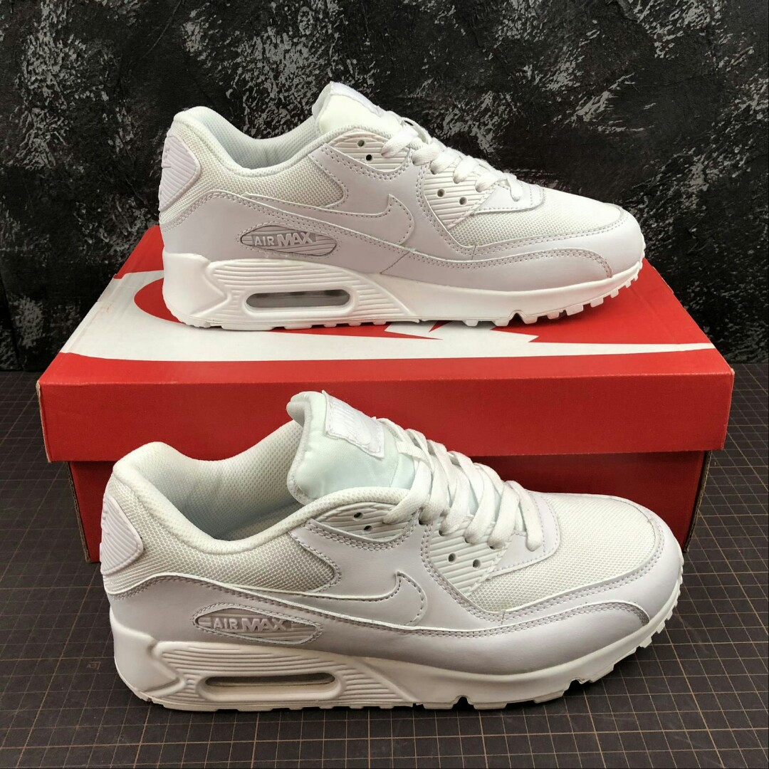 Ultra Nike Triple Air Max 90 Essential White 354ARjLq