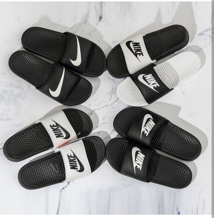 80385426a982 NIKE Benassi Swoosh Slides Sandals