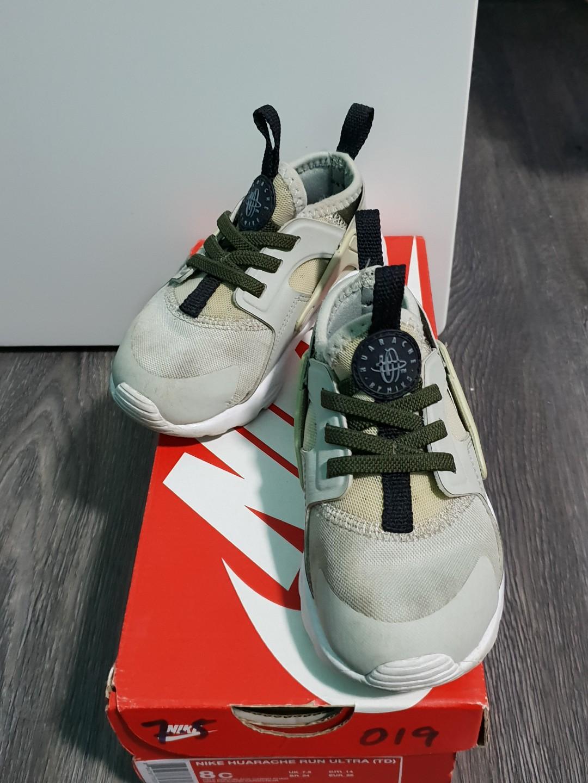 806c8980acbd Nike Huarache Run Ultra in Pale Grey (Toddler)