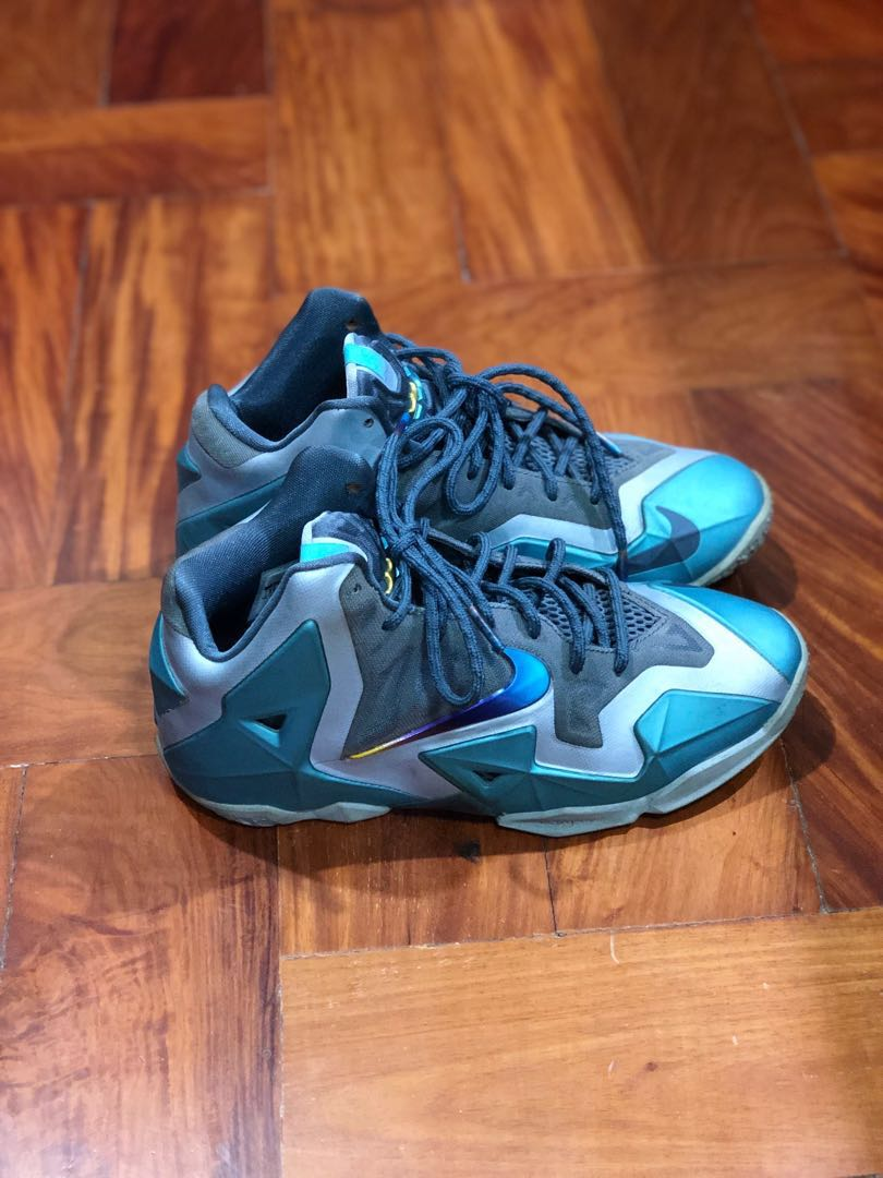 804eca70 Nike Lebron 11 Gamma Blue size 5, Sports, Athletic & Sports Clothing ...