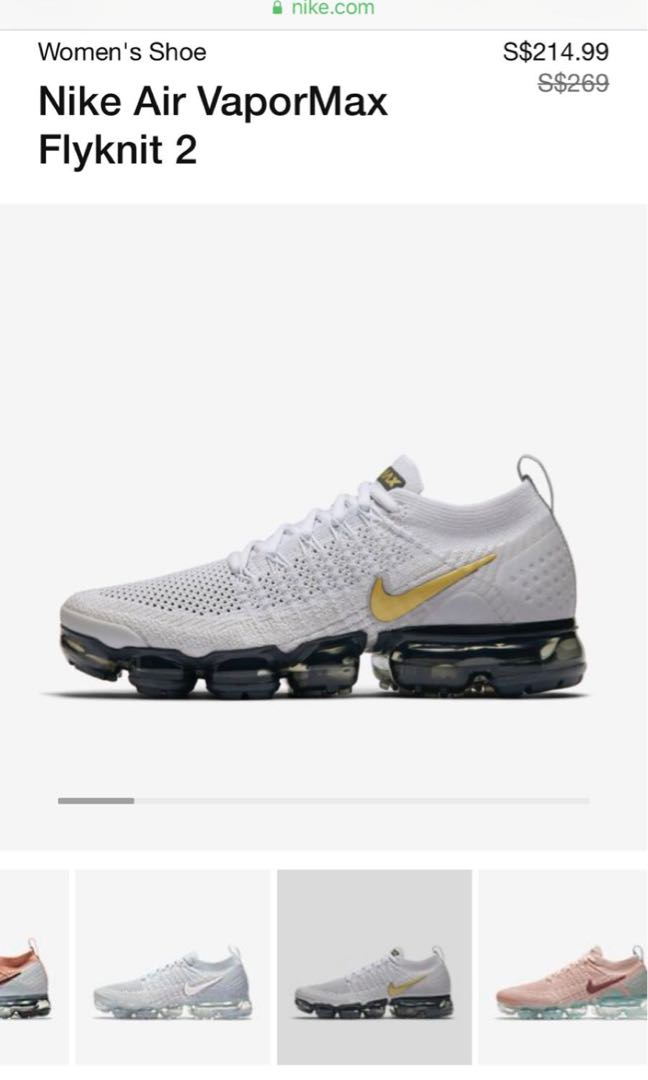 85115fb9c5a Nike Vapormax, Women's Fashion, Shoes, Sneakers on Carousell