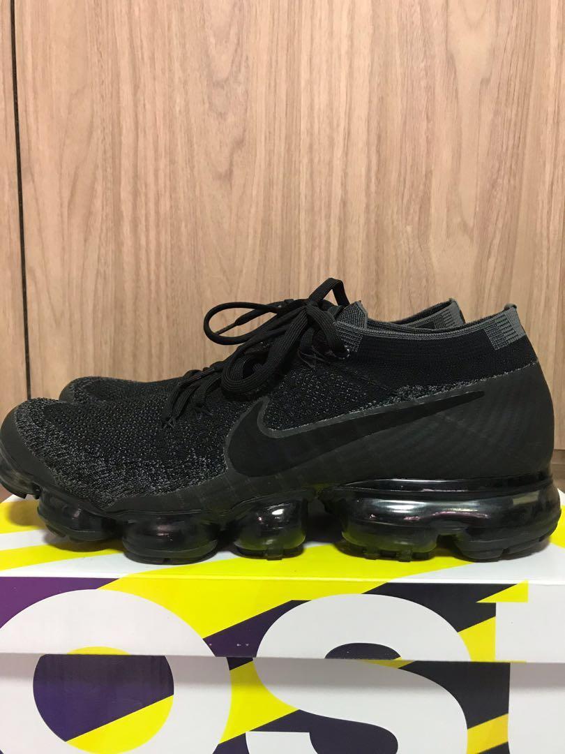 half off 97da3 8a7ff Nike Vapormax Triple Black 1.0, Men's Fashion, Footwear ...