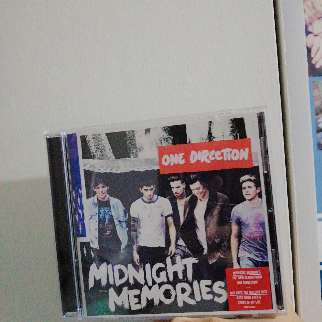 ONE DIRECTION MIDNIGHT MEMORIES ALBUM on Carousell