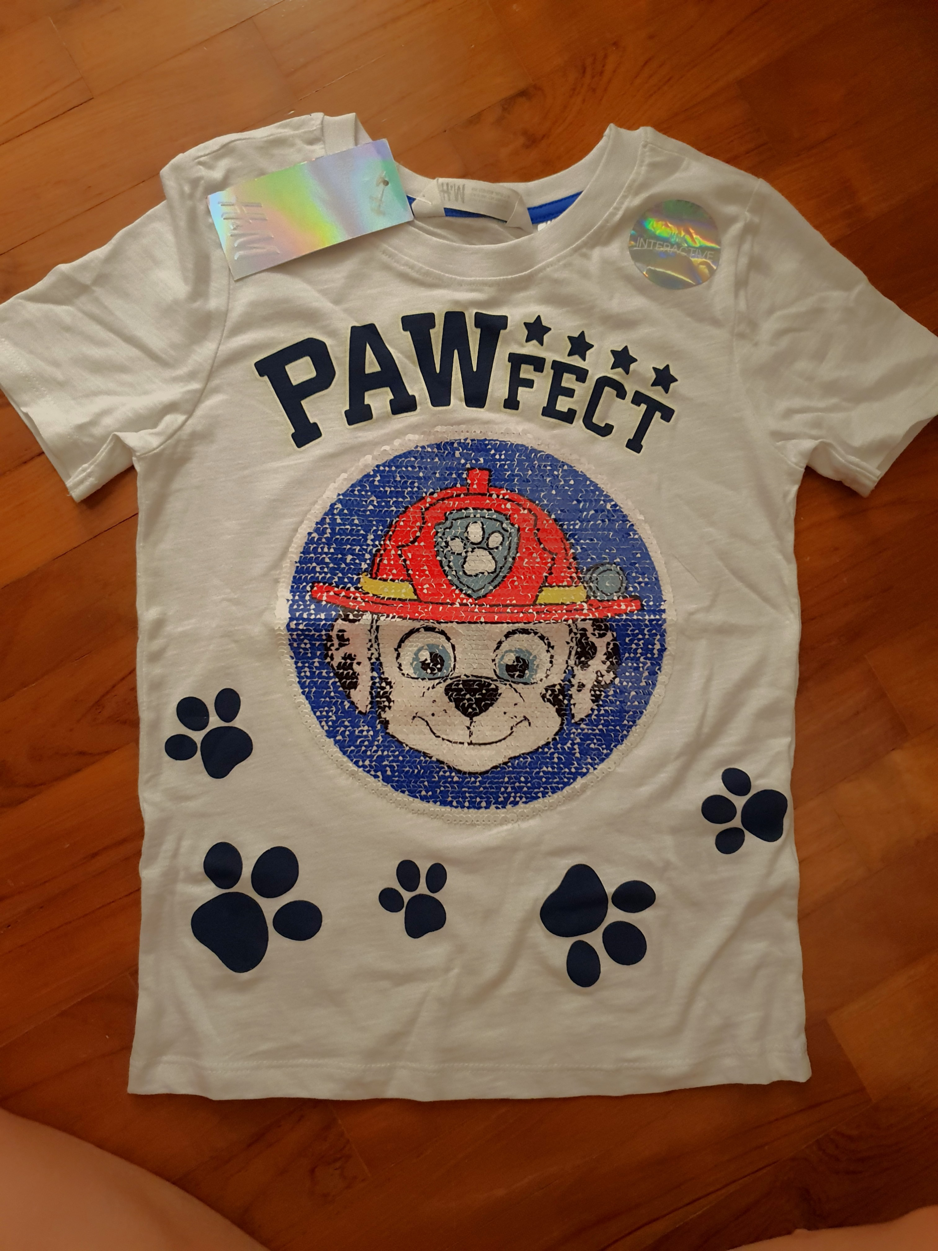 ae3c52a8 Paw Patrol T shirt, Babies & Kids, Boys' Apparel, 4 to 7 Years on ...