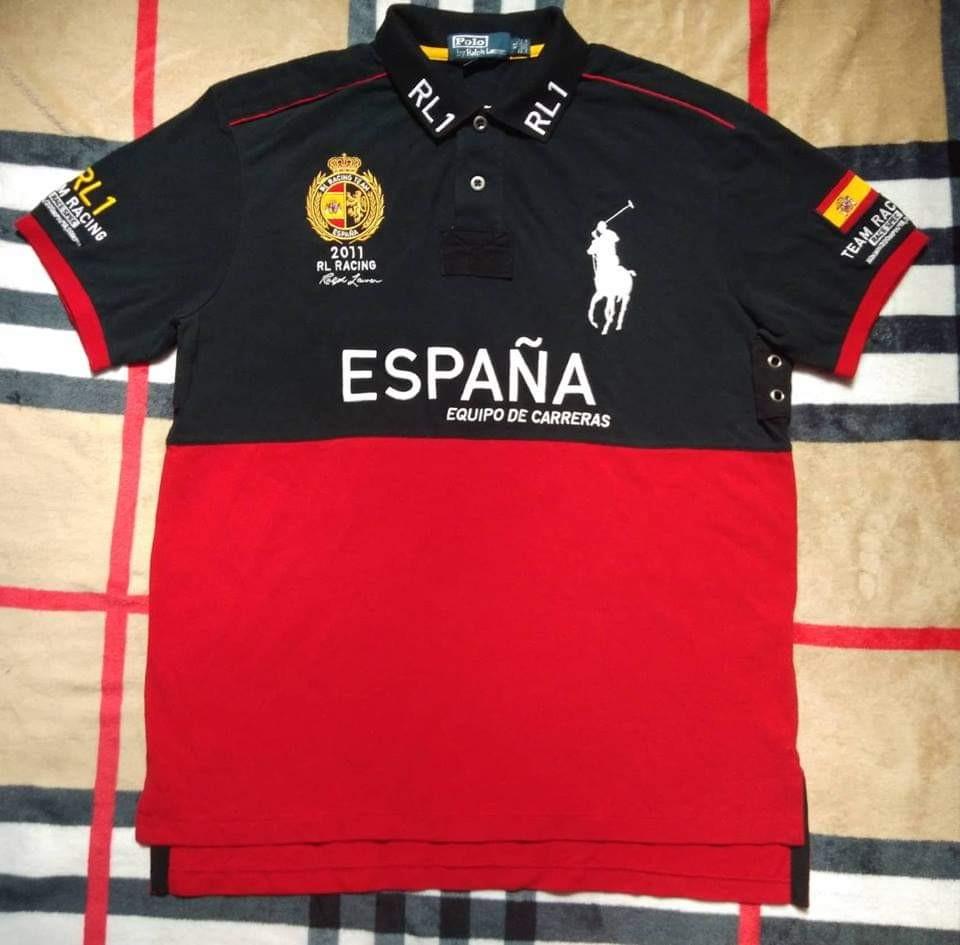 9880534b93 Polo Ralph Lauren big pony Racing team espana polo shirt
