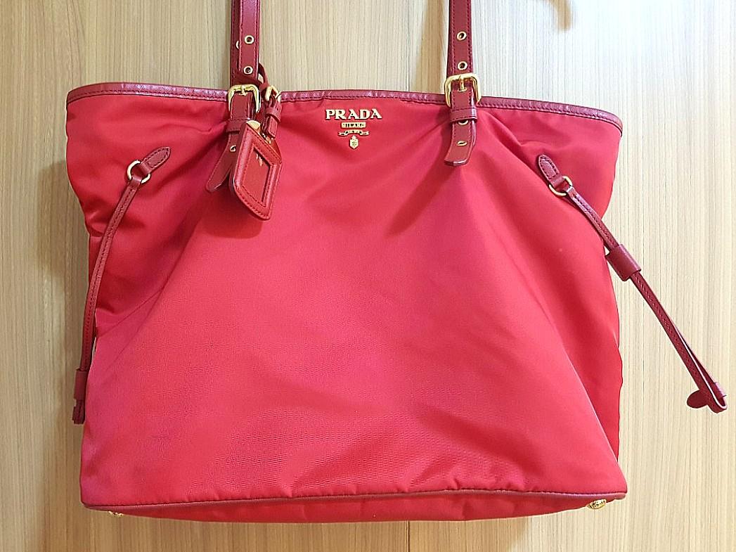 ... shopping prada red tessuto nylon bag luxury bags wallets on carousell  2f044 f5323 79439140c6c11